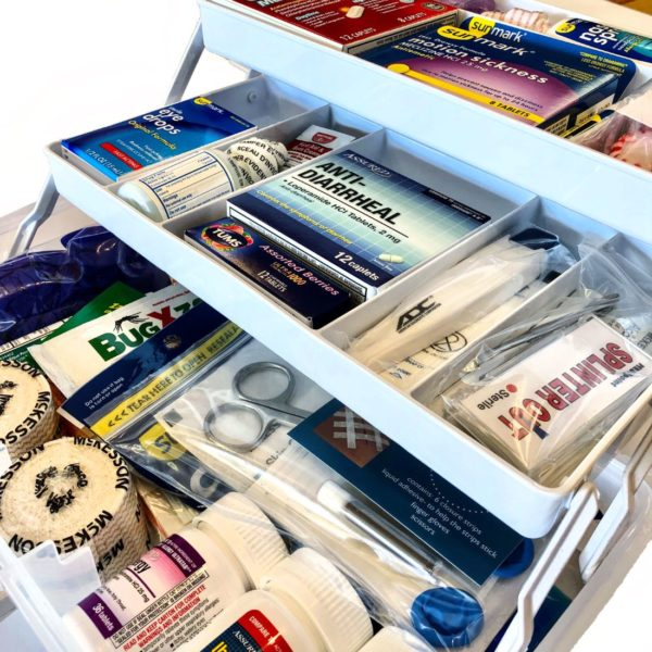 Dorm Room & Travel First Aid - The College Student First Aid Kit
